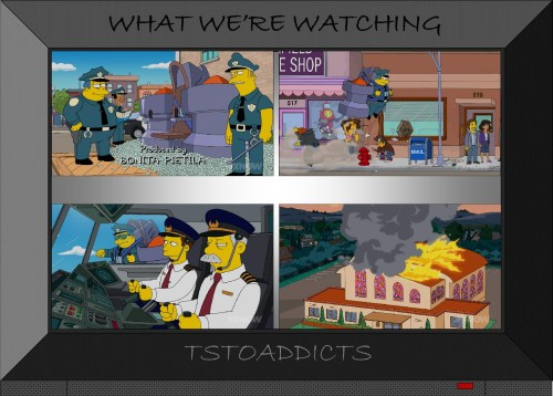 Sky Police Simpsons
