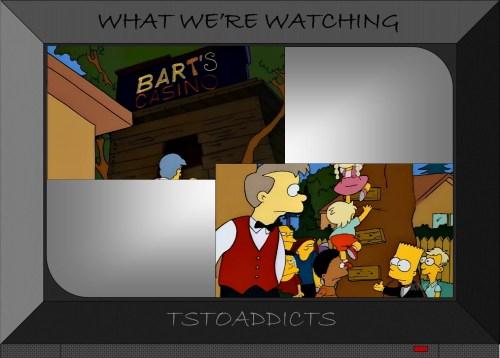 Bart's Casino Simpsons