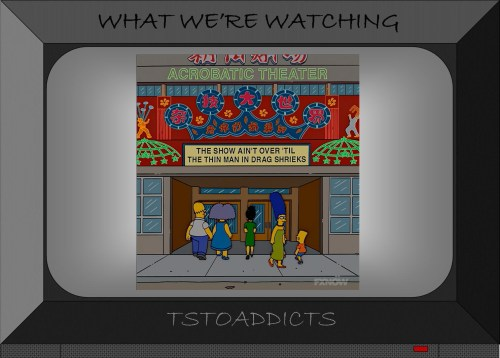 Chinese Acrobatic Theater Simpsons