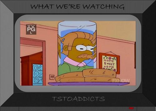 White Breas & Water Ned Flanders Simpsons