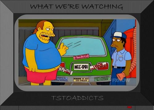 Comic Book Guy's car Simpsons