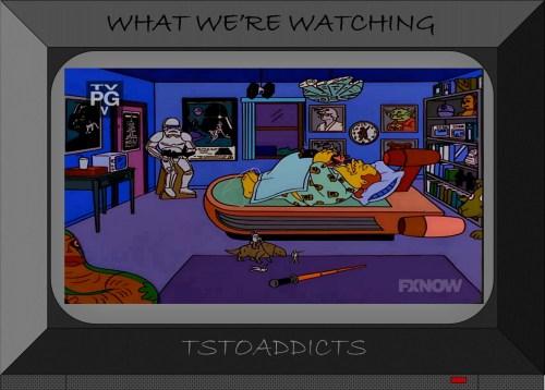 Comic Book Guy's Star Wars Bedroom Simpsons