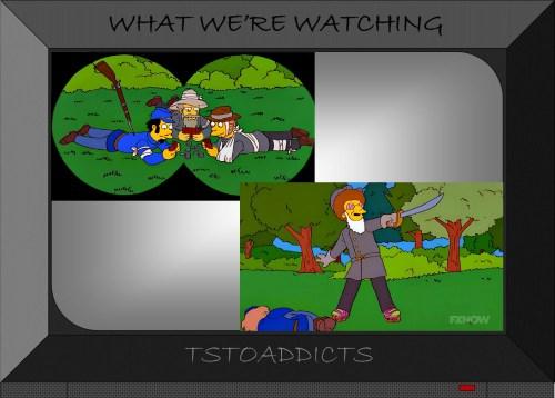 Disco Stu Stonewall Jackson Civil War Inaccuracies Simpsons