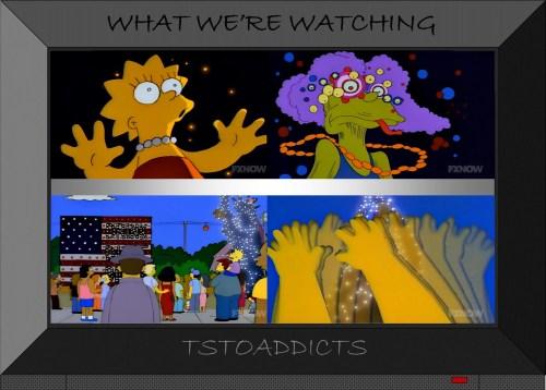 Lisa drinks the water Simpsons