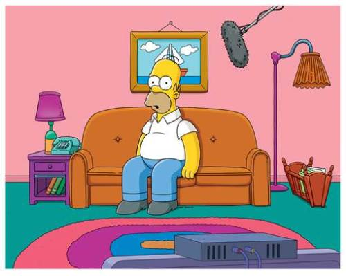 Simprovised_Homer_Live