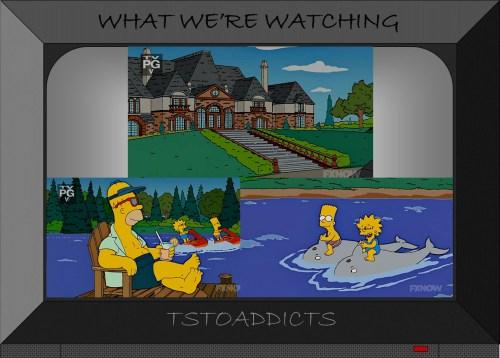 Burns Summer Mansion Home Simpsons 2