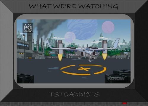 Futuristic Jet TSTO Basketball Court Superheroes Simpsons