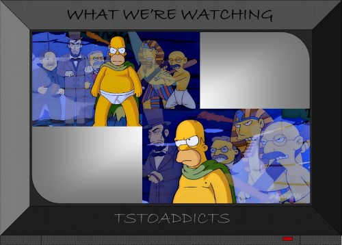 Homer's Political Powers Simpsons