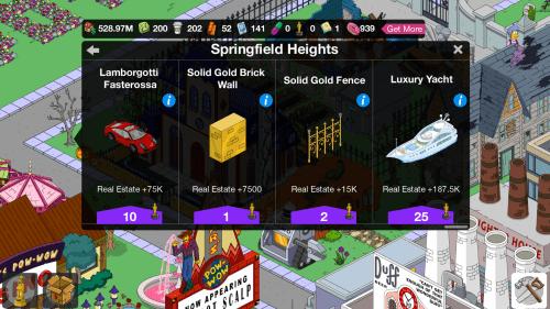SH menu