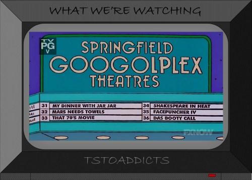 Springfield Googolplex Theatres Simpsons