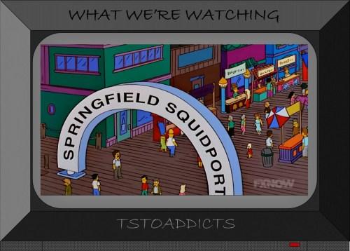 Springfield Squidport Booths Simpsons