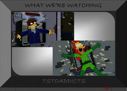 Bartman High Voltage Transformer Simpsons