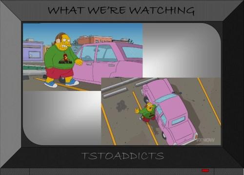 Comic Book Guy Radioactive Man Sweater T-Shirt Simpsons