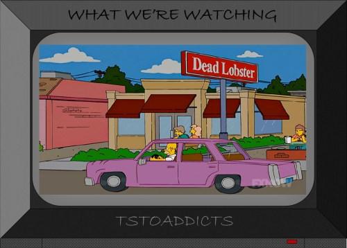 Dead Lobster Restaurant Simpsons