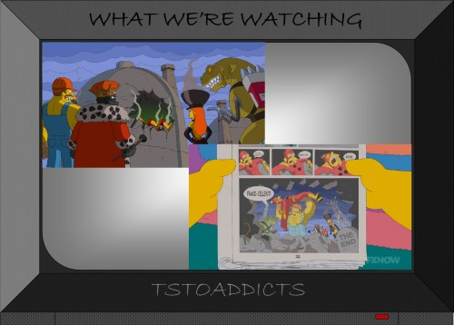 Death of Radioactive Man by Fossil Fuel Four Simpsons