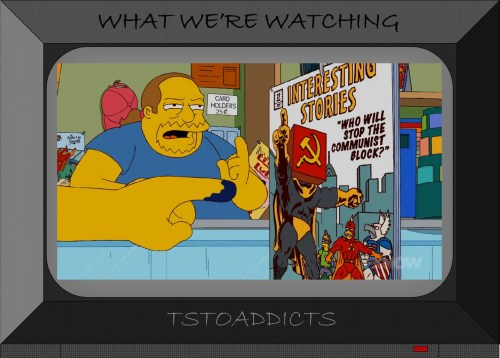 Interesting Stories #27 Radioactive Man Communist Block Simpsons