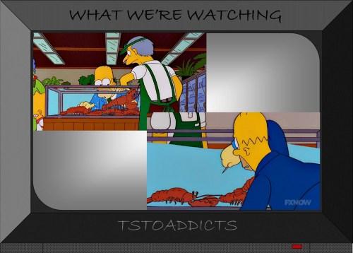 Lobster Tank Simpsons