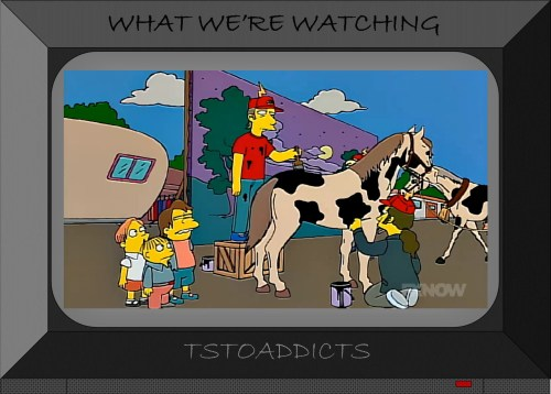 Painted Horse Cow Simpsons