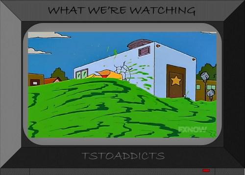 Radioactive Man Film Trailer Simpsons