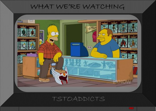 Radioactive Man Re-Rises Action Figures Android's Dungeon Simpsons