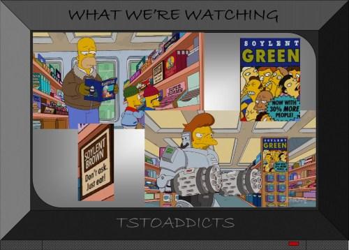 Soylent Green Soylent Brown Simpsons