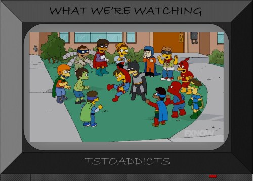 Springfield Kids Superhero Fight Birthday Party Simpsons