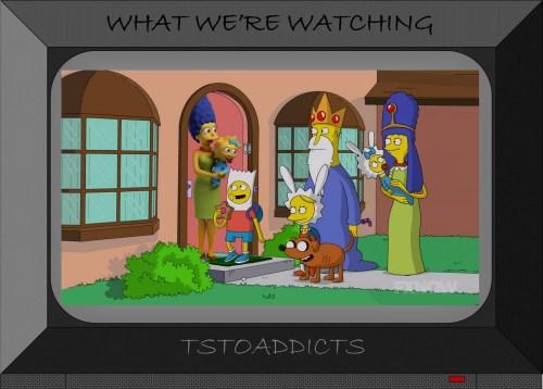 Adventure Time Simpsons