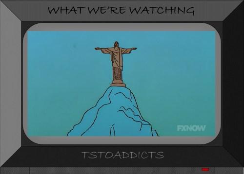 Cristo Redentor (Christ the Redeemer) statue Simpsons