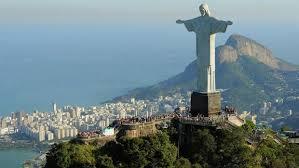 Cristo Redentor statue in Rio de Janeiro Brazil