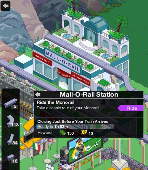 Monorail-track-ride
