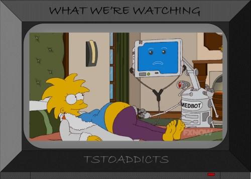 Pregnant Maggie Medbot Simpsons