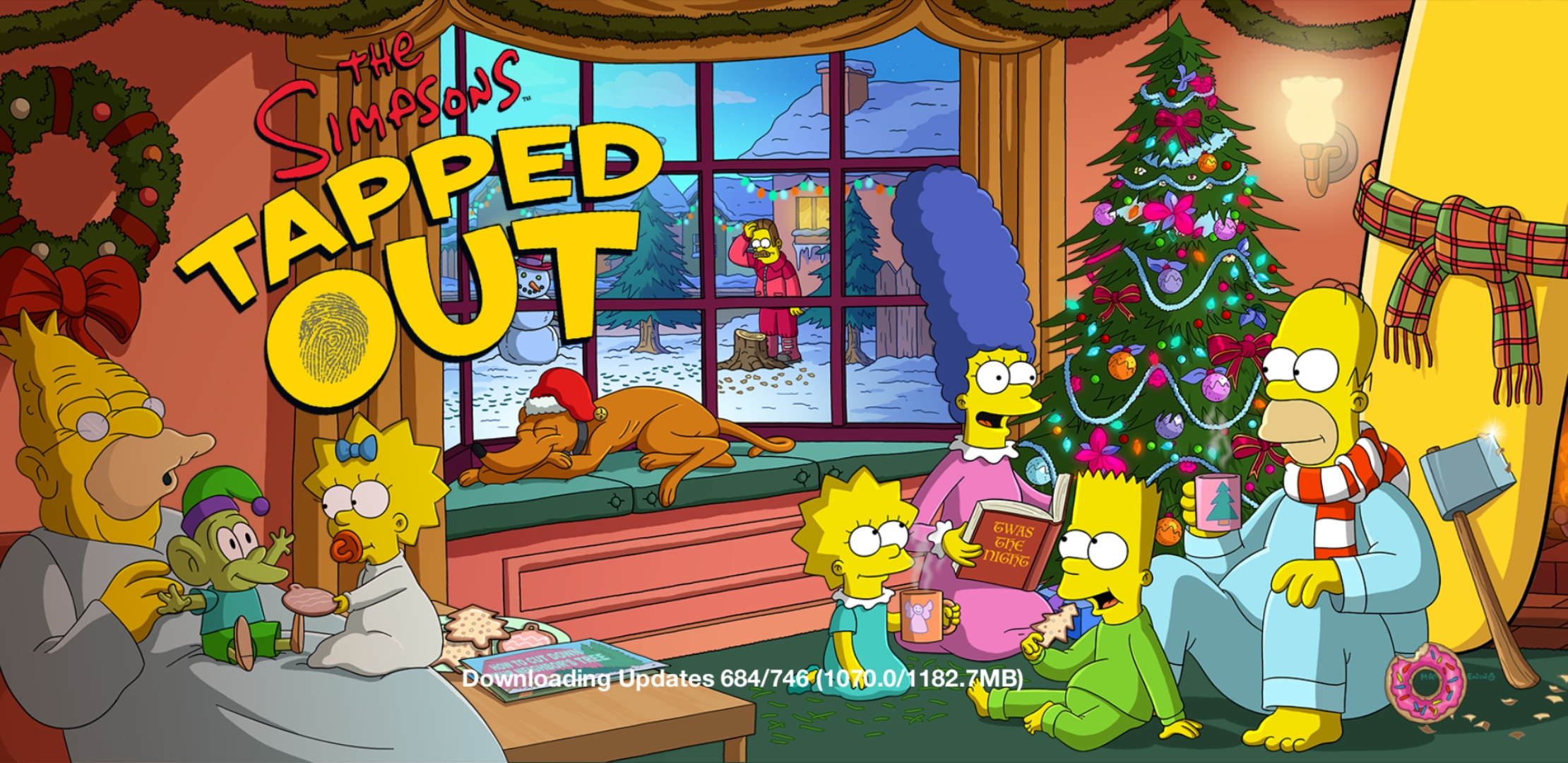 Simpsons Tapped Out Christmas Update 2021 Christmas Is Nearthe Simpsons Tapped Out Addictsall Things The Simpsons Tapped Out For The Tapped Out Addict In All Of Us