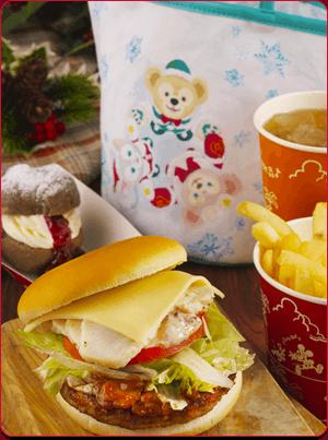 mn ph01a 【ディズニー】クリスマス欲しいスーベニア付メニュー【ダッフィー】