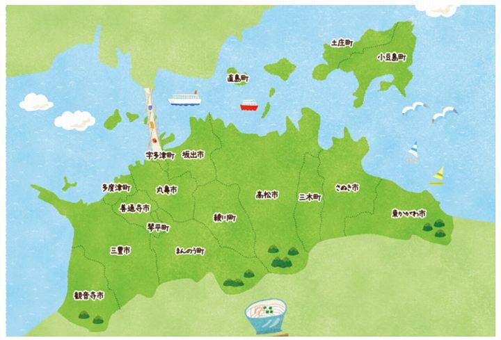 香川県 災害少ない