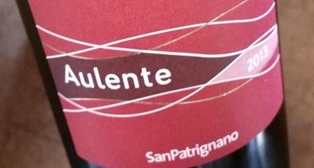 アウレンテ aulente 赤ワイン