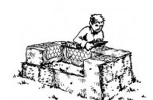 芝生のソファー4