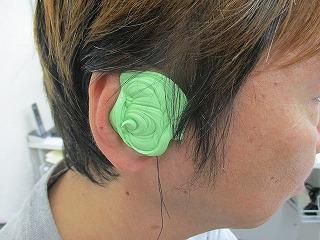 補聴器 土浦 耳型採取