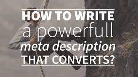 How to Write a Meta-description
