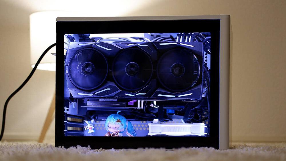 【自作PC】「COOLER MASTER MasterBox NR200P」レビュー!Mini-ITXゲーミングPCを組もう!