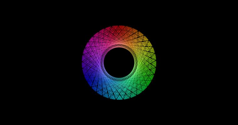[work 115] Hue circle