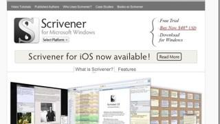 Windows版Scrivenerがようやくまともに使えるようになった!