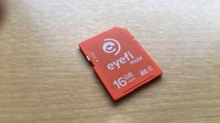 キャノンG7XマークⅡでワイヤレスの画像転送に失敗するなら… 「EyeFi Mobiカード」を利用するのも1つの方法です!!