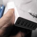 合計12Aの充電が可能なUSB充電器(Anker PowerPort 6)を購入しました。これは強力!