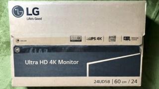 12インチMacBookで果たして24インチの4Kモニターは使えるのか?3万円未満で購入したLGの格安4Kモニター(24UD58-B)をレビューする