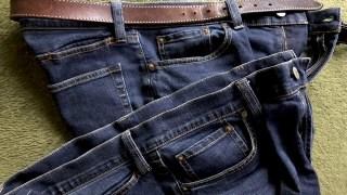日本人体型の僕にはバッチリ。中年のおじさんでも履きやすかった!!無印のジーンズ