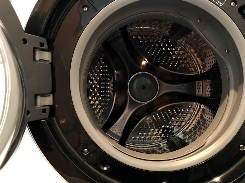 洗濯乾燥機の内部