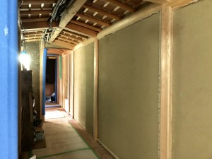 数寄屋土壁手刻み木製建具