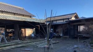 紬建築土壁伝統構法石場建て