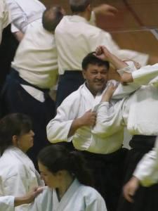 Seminario Sensei Yamada, daniel aguirre sensei