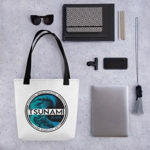 Tsunami logo Tote bag
